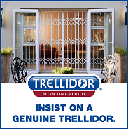 TRELLIDOR - RETRACTIBLE SECURITY.  INSIST ON A GENUINE TRELLIDOR.