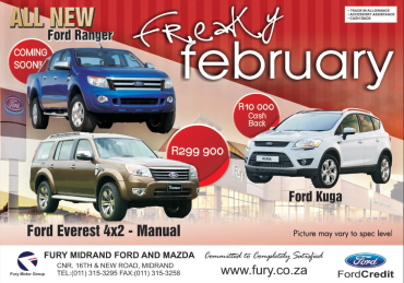 Ford fury midrand car dealers services car dealers new for Ford motor service coupons