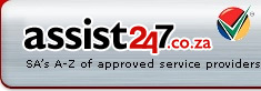 Assist247.co.za, South Africa Car and Home Services Directory